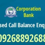 Corporation Bank Check Balance Enquiry