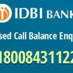IDBI Bank Check Balance Enquiry