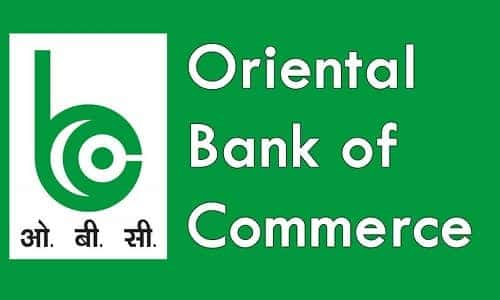 Oriental Bank of Commerce Check Balance Enquiry