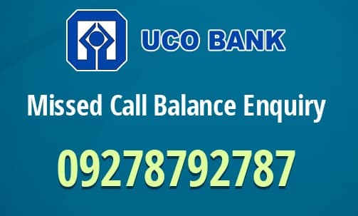 UCO Bank Check Balance Enquiry