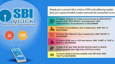SBI Bank Mini Statement on Mobile
