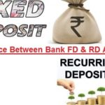 Difference Between Bank FD and RD Account