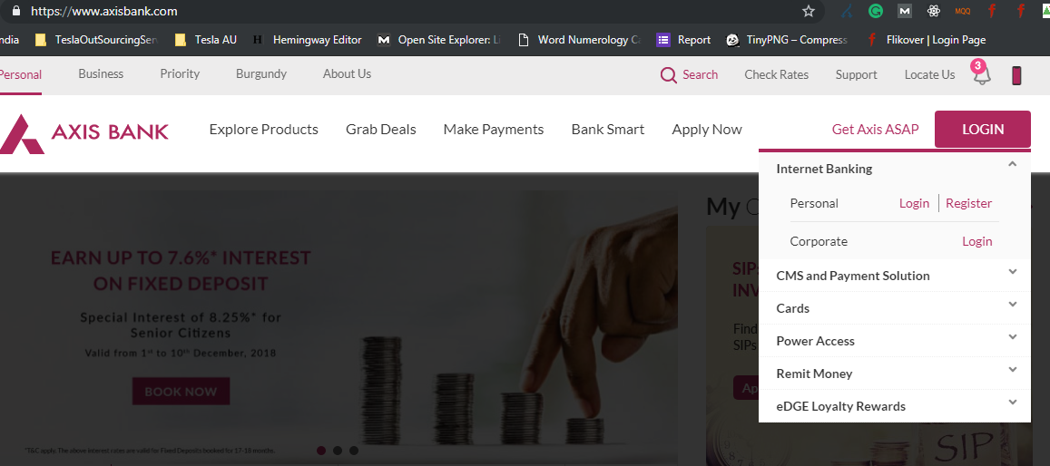 How To Block Unblock Axis Bank Debit Card Via Internet Banking Or